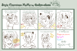 Style exercices meme by Daisu -q by Daisu-Natori