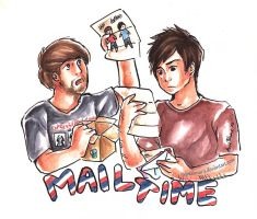 Mailtime with Smosh! by VulpesLunaris