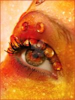 autumn look eye makeup by mizZ-AT