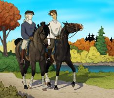 Autumn ride by SilvesterVitale
