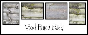 Wood Fence Pack by pendlestock