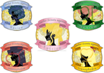 Sailor scout stickers by colourful-crayons95