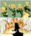 Lueali Sets Things on Fire by imperiusunforgivable