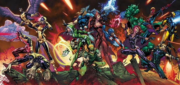 the-avengers-x-men-tricover Color Sample by mikestefan
