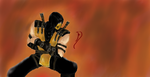Mortal Kombat X Scorpion by PencilShinobi