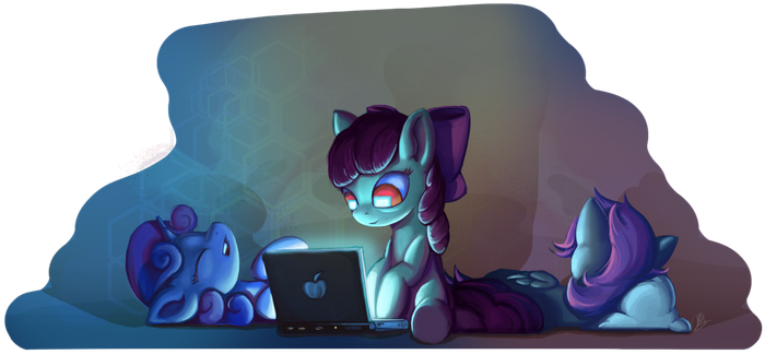 Late Night by I-am-knot