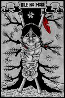 Idle no more (2) by LoxiasPhoebus