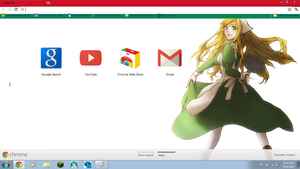 Hetalia: Hungary Chrome Theme DL by Soraoraoraora