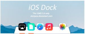 iOS Dock by Slurpaza