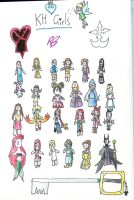 kh girls by evilfuzzle2