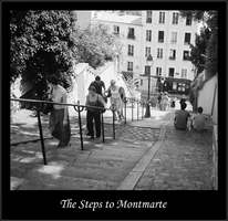 Steps to Montmarte by bdjwill