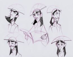 Kuzco sketches by Dullsville