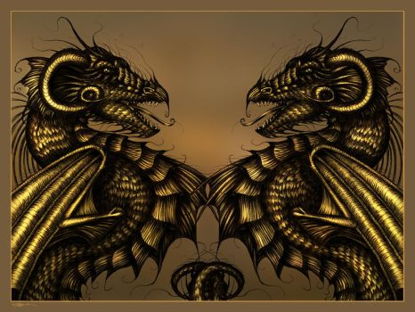 Omnipotent - Digital Painting by machine-guts