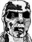 Sketch Card - Zombie Flesh Eaters (Redux) by davidmiddleton