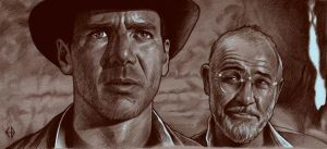Indiana Jones drawing by Emmanuel-B