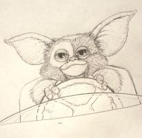 Gizmo  MAY 6 '14 Art Jam by JeremiahLambertArt