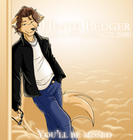 Heath Ledger Tribute by SapphWolf