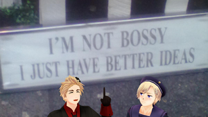 MMD Hetalia - I'm not bossy by PikaBlaze