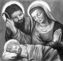 Holy Family by argentinian-queen