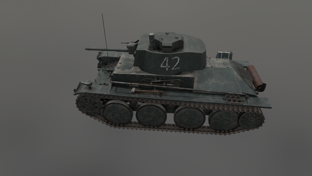 PzKpfw 38(t) 4 by LordTruewulf
