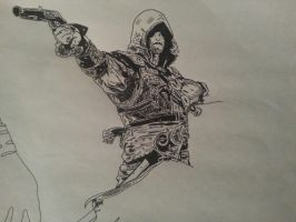 Assassin's creed .. by ladyjart
