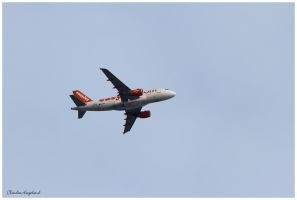 Aircraft  easyjet by Claudia008