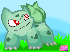 .:: Bulbasaur ::. by shadowandtikalfan