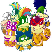 koopalings minus 1 by RKPiratedrawer