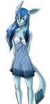 Glaceon Anthro by Slifer