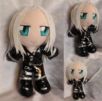 Art Trade, Plushie Sephiroth by ThePlushieLady