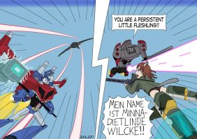 TFA vs Strike Witches 18 by vmv-81