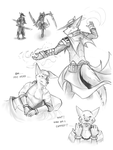 Vangard Sketch Dump by 7THeaven
