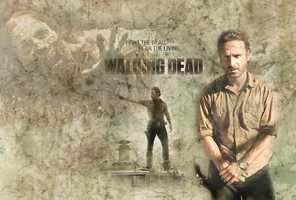 The Walking Dead - Wallpaper by Vampiric-Time-Lord