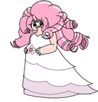 Rose Quartz pregnant with Steven by HooeySmarts333