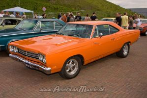 Orange Roadrunner by AmericanMuscle