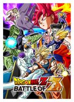 Dragon Ball Z Battle of Z Cover by PauloDbZ
