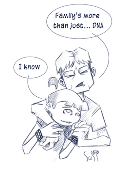 SPOILERS S09E04 Just DNA by Saisoto