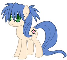 Lucky Star - Konata Pony by TheIronHeart