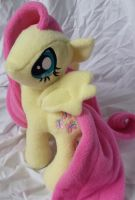 Flutteryshy Plush by RielleAlluris