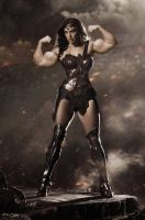 Gal Gadot Muscled by Turbo99