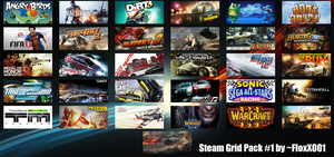 Steam Grid Icons by floxx001 by floxx001