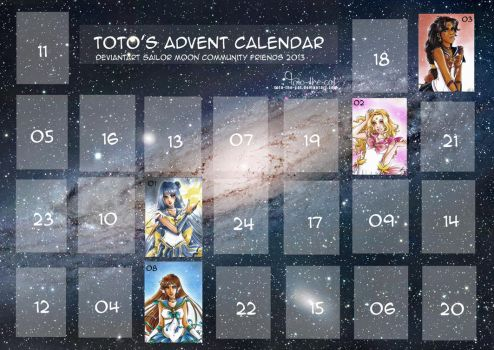 Advent Calendar 2013 by MTToto