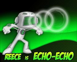 Echo-Echo Poster Birthday Present by shimon-graffiti