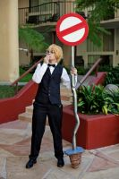 Durarara- Shizuo Heiwajima: Taking a Drag by Yonejiro