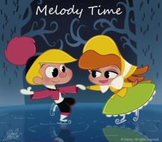 50 Chibis Disney : Melody Time by princekido