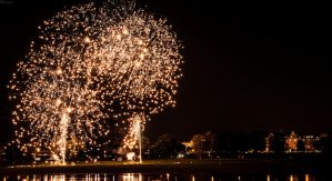 Fireworks at Japan Day 2014 by Quiitschy