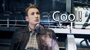 (GIF) Steve Rogers (Captain America): Cool! by ZawiszaTheBlack
