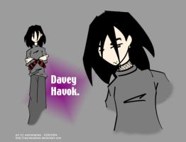 AFI Character Sketch - Davey by wynterashes
