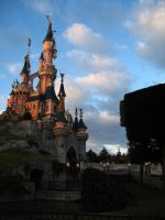 Disneyland Paris - Castle -10- by Maliciarosnoir-stock
