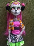 Monster High Day of the Dead Marisol by AdeCiroDesigns
